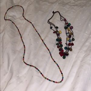 Jewelry - Two beaded necklace bundle